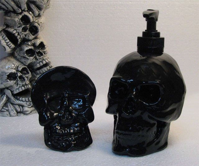 Skull Soap Dispenser