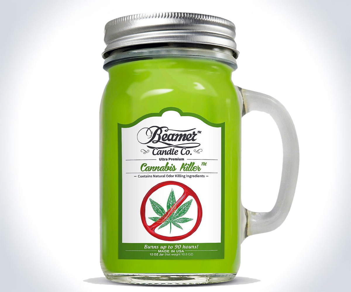 Cannabis Killer Candle Weed Odor Remover Dudeiwantthat Com