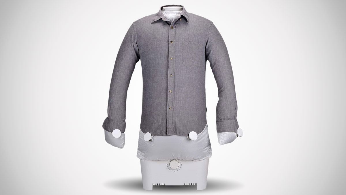 Inflatable Dummy Automatic Shirt Dryer & Iron