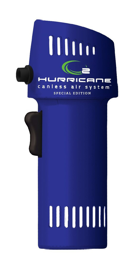 The Industrial Unit model O2 Hurricane from Canless Air System is a chemical-free, reusable cleaner for electronics, houseplants, and more. The Canless Air System has an integrated air compressor that allows the O2 Hurricane to re-pressurize itself using ambient air/5(11).