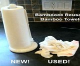 Bambooee Reusable & Washable Paper Towels