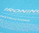 Iron, Man Ironing Board Cover