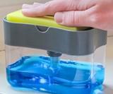 Press 'n' Suds Sponge Soap Dispenser & Holder