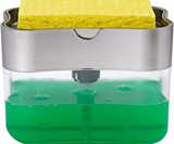 Press 'n' Suds Sponge Soap Dispenser & Holder