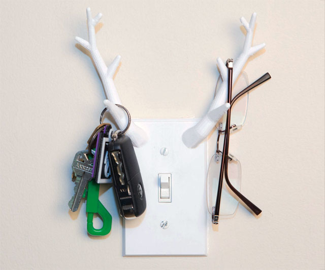3D Printed Antler Switchplate