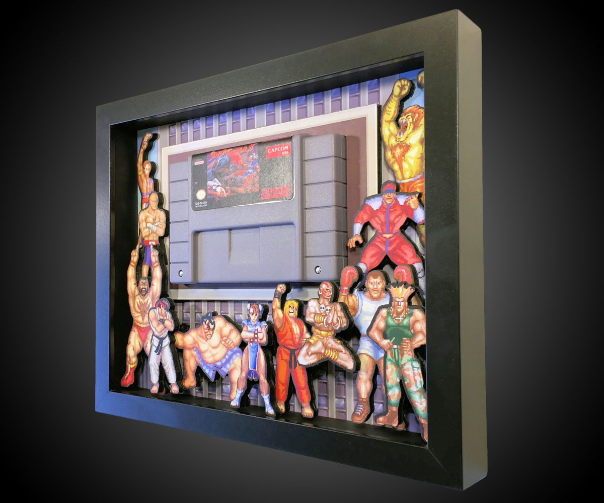 3d video game shadow boxes for 3d decoration games