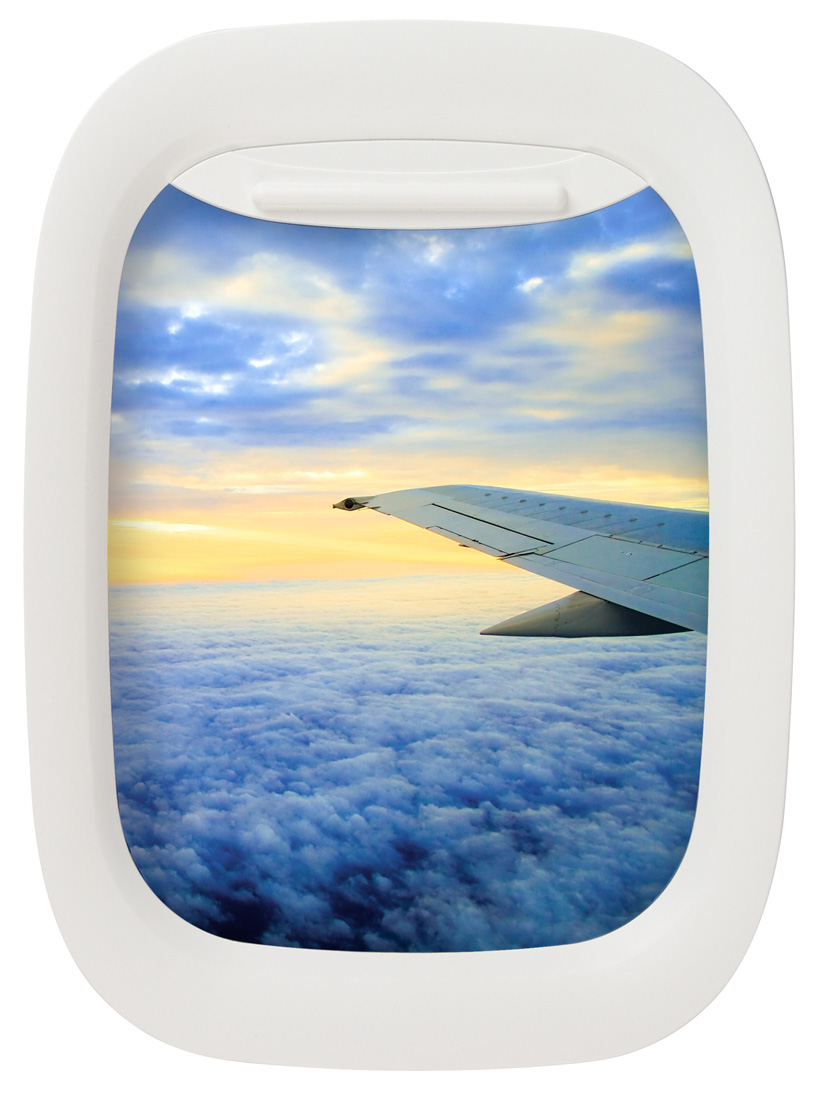 Airplane Window Picture Frames | DudeIWantThat.com