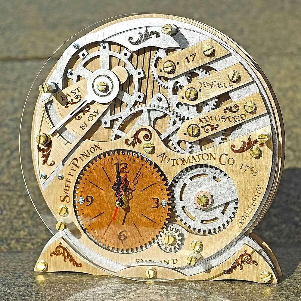 Automaton Wall Clocks Dudeiwantthat Com