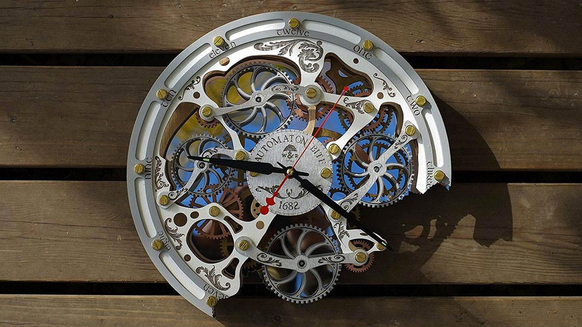 Automaton Wall Clocks