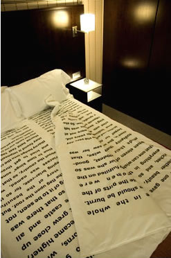 Book holder for reading in bed
