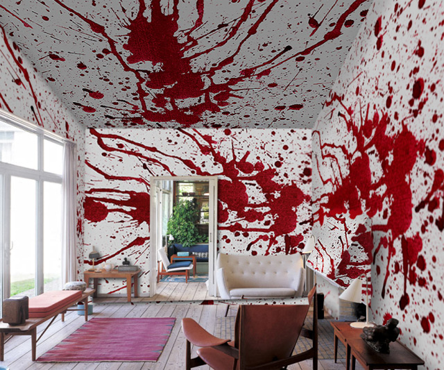 Blood Bath Wallpaper | DudeIWantThat.com