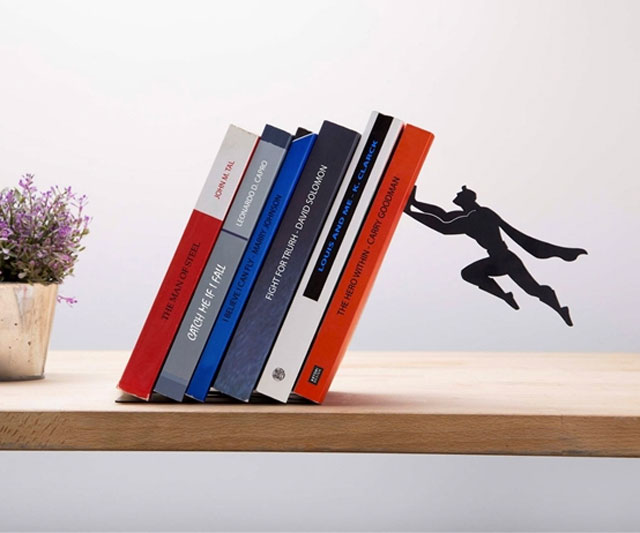 Book Hero Bookend