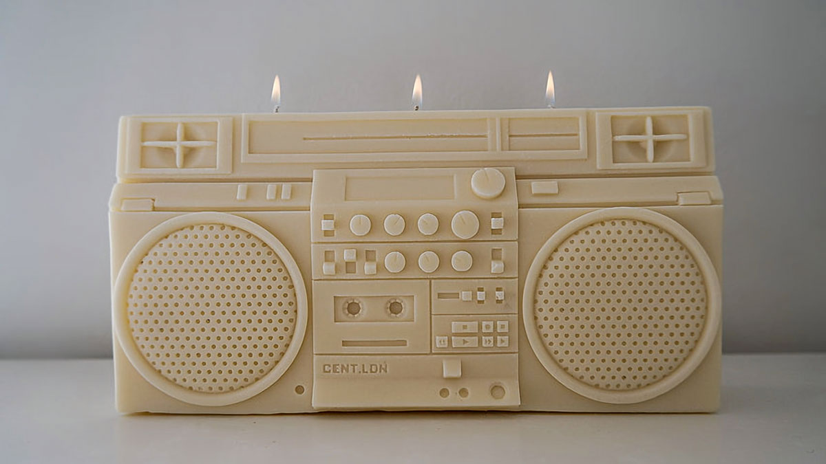 cent.ldn RC M90 Boombox Candle