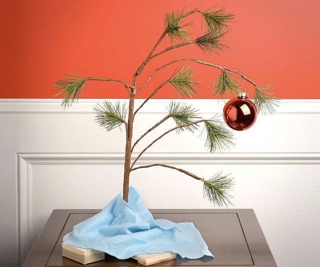 Charlie Brown Christmas Tree Dudeiwantthat Com