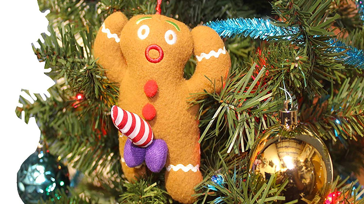 Dirty Talking Gingerbread Man Christmas Tree Ornament Dudeiwantthat Com