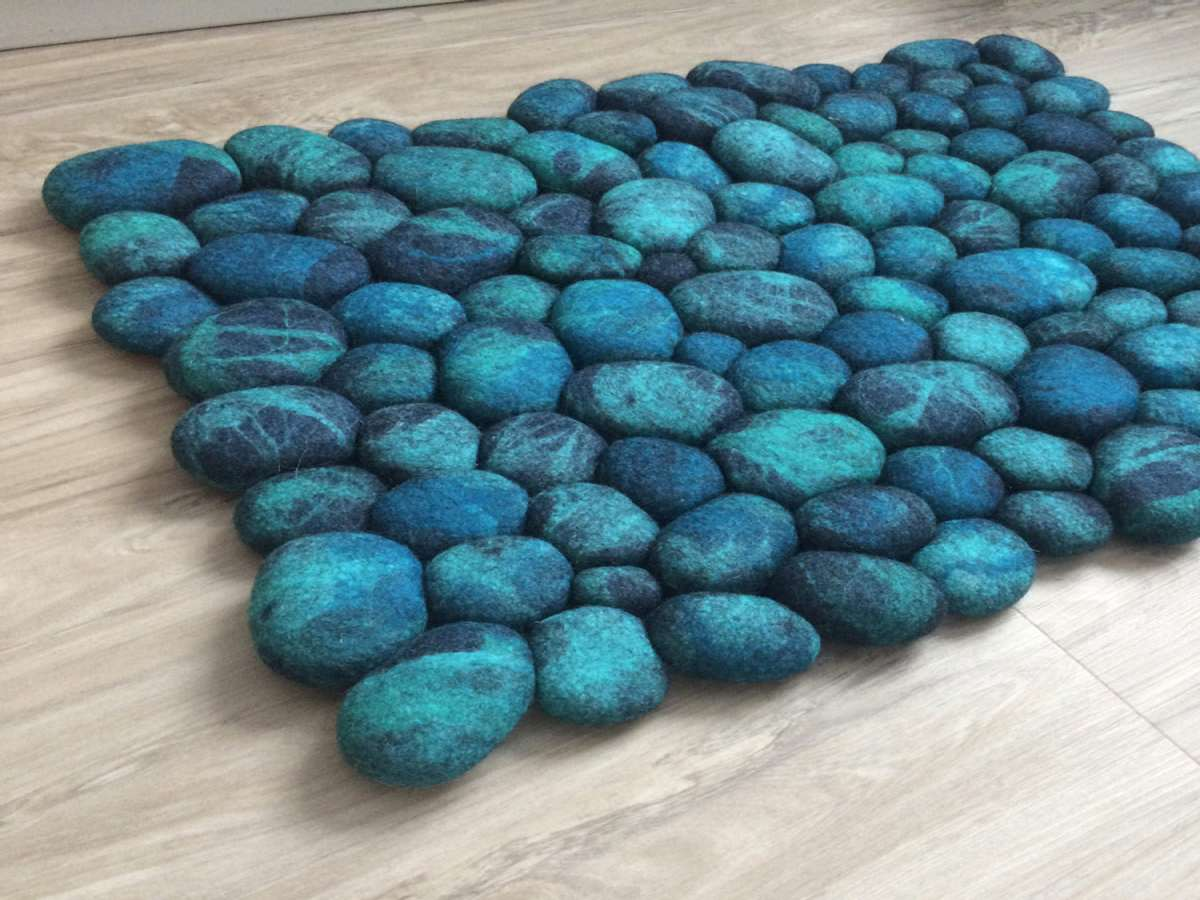 Felt Stone Area Rugs Dudeiwantthat Com