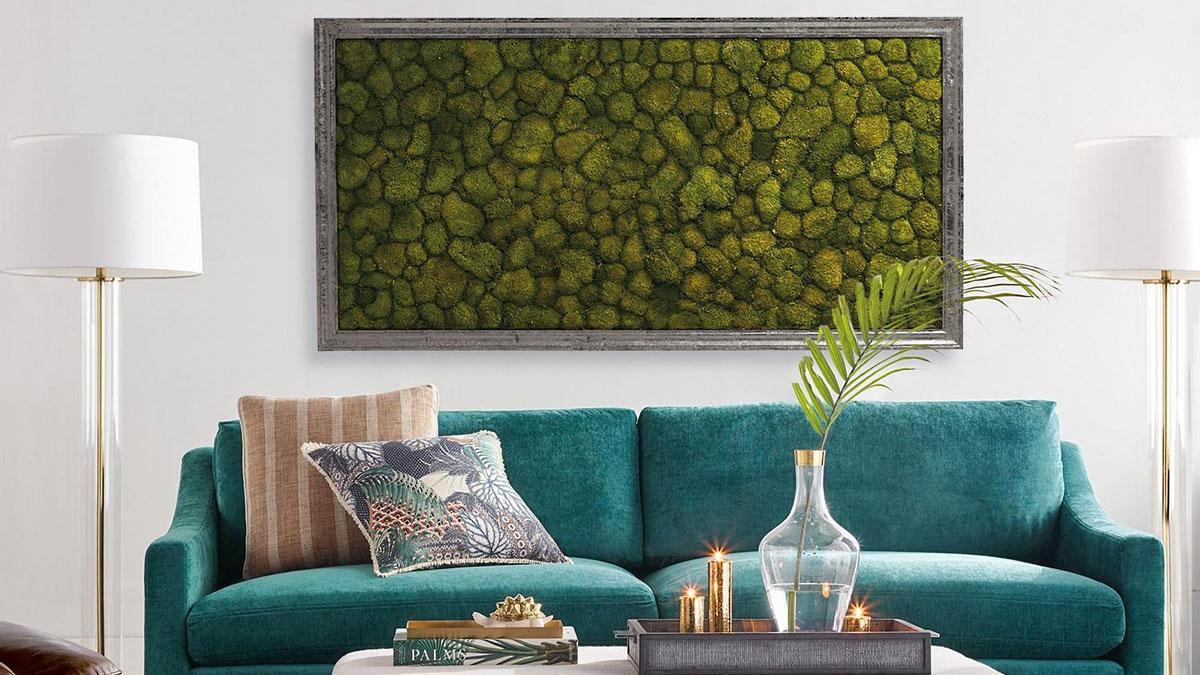 Living Moss Wall Art