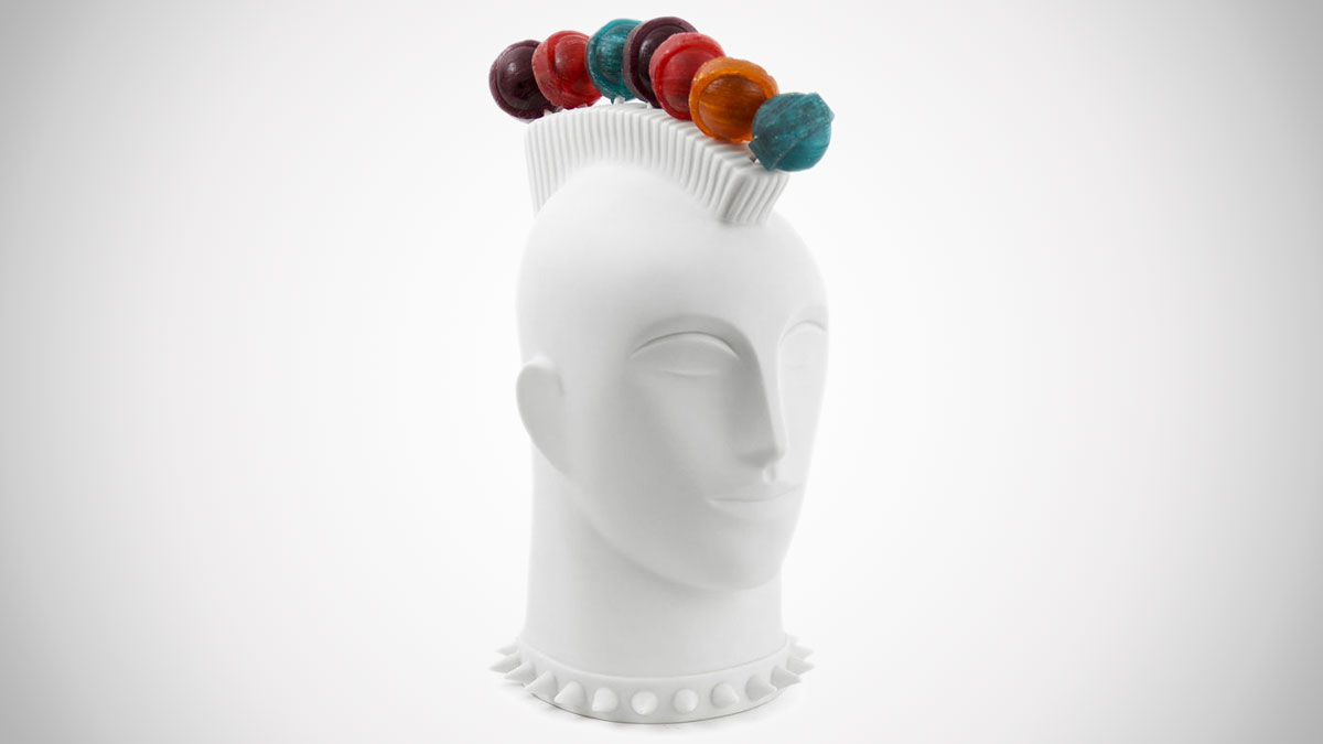 Mohawk Lollipop Holder