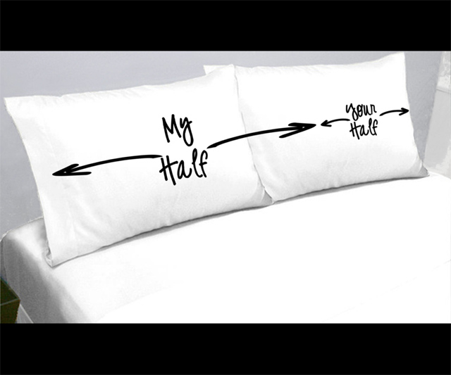 My Half/Your Half Pillowcases