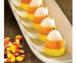 Candy Corn Scented Candles