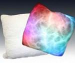 Acid Trip Pillow Lit and Unlit