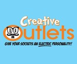 Electrical Power Outlet Stickers