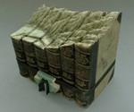 Guy Laramee Book Sculptures - Mountains