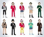 The Many Incarnations of Bill Murray Print