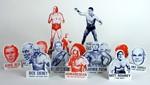 Presidential Wrestling Ornaments