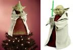 Yoda Xmas Tree Topper