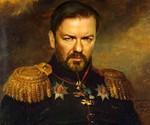 Dapper Celebrity Soldier Prints - Ricky Gervais
