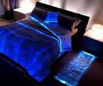 Fiber Optics Bedspread