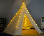 Giant Canvas Teepee