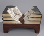 Guy Laramee Book Sculptures - Le Pont
