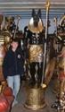 The Grand Ruler - Life-Size Anubis Sculpture