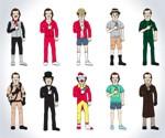 The Many Incarnations of Bill Murray Print
