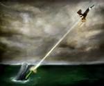 WTF? Icon Prints - Sperm Whale Shooting Bald Eagle with Bazooka