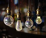 3D Fireworks Light Bulbs