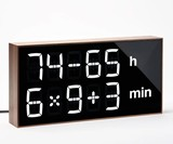 Albert Clock - Calculate the Time, Einstein