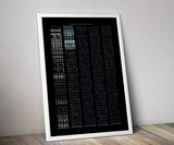 Concealed Art NES & Pinball Data Art Prints