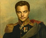 Dapper Celebrity Soldier Prints - Leonardo DiCaprio