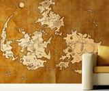 Final Fantasy VII World Map Mural