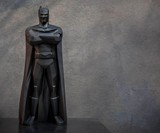 Geometric Ceramic Batman Statue