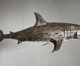 Geometric Shark Chandelier