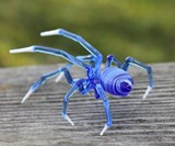 Glass Symphony Glass-Blown Spiders