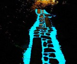 Glowing Pebbles for Walkways, Gardens & Home Decor