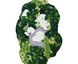 Green Forest Moss Rug