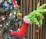 Grinch Christmas Tree Decoration & Ornament Holder