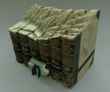 Guy Laramee Book Sculptures - Mountains