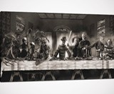 Horror Movie The Last Supper Print
